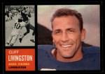 1962 Topps #99  Cliff Livingston  Front Thumbnail