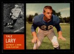 1962 Topps #56  Yale Lary  Front Thumbnail