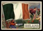 1956 Topps Flags of the World #15   Ireland Front Thumbnail