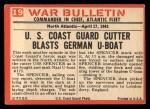 1965 Philadelphia War Bulletin #19   Jackal at Bay Back Thumbnail