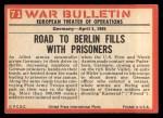 1965 Philadelphia War Bulletin #71   Kamerad! Back Thumbnail