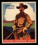 1933 Goudey Indian Gum #71  General Sturgis   Front Thumbnail