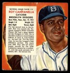 1954 Red Man #13 NL x Roy Campanella  Front Thumbnail