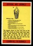 1966 Philadelphia #196   NFL Signals Front Thumbnail