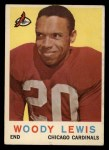 1959 Topps #45  Woodley Lewis  Front Thumbnail