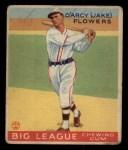 1933 Goudey #151  Jake Flowers  Front Thumbnail