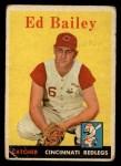 1958 Topps #330  Ed Bailey  Front Thumbnail