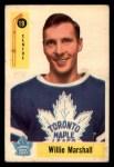 1958 Parkhurst #19  Willie Marshall  Front Thumbnail