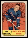 1967 Topps #24  Red Berenson  Front Thumbnail