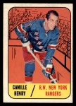1967 Topps #26  Camille Henry  Front Thumbnail