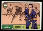 1968 Topps #36  Real Lemieux  Front Thumbnail