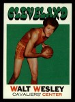 1971 Topps #52  Walt Wesley   Front Thumbnail