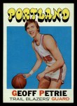 1971 Topps #34  Geoff Petrie   Front Thumbnail