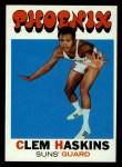 1971 Topps #96  Clem Haskins   Front Thumbnail