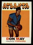 1971 Topps #6  Don May   Front Thumbnail