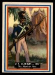 1953 Topps Fighting Marines #93   The Mexican War Front Thumbnail