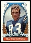 1972 Topps #281   -  Ted Hendricks All-Pro Front Thumbnail