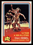 1972 Topps #249   -  Dan Issel  ABA All-Star - 1st Team Front Thumbnail