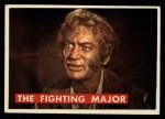 1956 Topps Davy Crockett Green Back #52   The Fighting Major  Front Thumbnail
