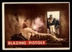 1956 Topps Davy Crockett Green Back #78   Blazing Pistols  Front Thumbnail