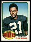 1976 Topps #173  Cliff Branch  Front Thumbnail