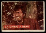 1956 Topps Davy Crockett Green Back #3   Catching a Bear  Front Thumbnail