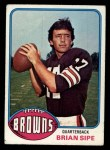 1976 Topps #516  Brian Sipe   Front Thumbnail