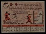 1958 Topps #455  Hal Griggs  Back Thumbnail
