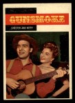 1958 Topps TV Westerns #5   Chester and Kitty  Front Thumbnail