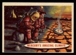 1957 Topps Space Cards #77   Mercury's Amazing Climate  Front Thumbnail