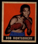 1948 Leaf #44  Bob Montgomery  Front Thumbnail