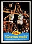 1973 Topps #63   NBA Eastern Semi-Finals Front Thumbnail