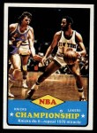 1973 Topps #68   NBA Championship Front Thumbnail
