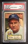 1952 Topps #48 ERR Joe Page  Front Thumbnail