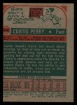 1973 Topps #148  Curtis Perry  Back Thumbnail