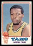 1973 Topps #229  Warren Davis  Front Thumbnail