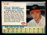 1962 Post #32  Dick Williams   Front Thumbnail