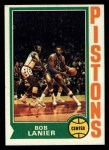 1974 Topps #131  Bob Lanier  Front Thumbnail