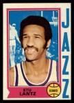 1974 Topps #101  Stu Lantz  Front Thumbnail