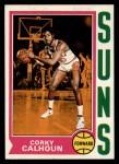 1974 Topps #107  Corky Calhoun  Front Thumbnail