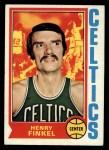 1974 Topps #118  Henry Finkel  Front Thumbnail