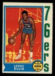 1974 Topps #111  Leroy Ellis  Front Thumbnail