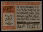 1972 Topps #120  Gilbert Perreault  Back Thumbnail