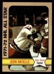 1972 Topps #130  Jean Ratelle  Front Thumbnail