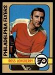 1972 Topps #112  Ross Lonsberry  Front Thumbnail