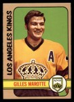 1972 Topps #167  Gilles Marotte  Front Thumbnail