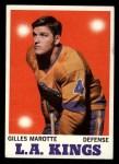 1970 Topps #34  Gilles Marotte  Front Thumbnail