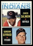 1964 Topps #499   -  Chico Salmon / Gordon Seyfried Indians Rookies Front Thumbnail