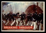 1956 Topps Davy Crockett Green Back #72   Breaking Through  Front Thumbnail
