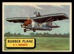 1957 Topps Planes #38 BLU  Rubber Plane Front Thumbnail